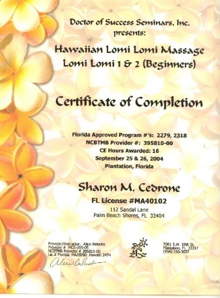Massage E&T21 Lomi1&2